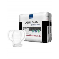 Abena Abri-man Formula 2 Premium Прокладки одноразовые для взрослых, 14 шт