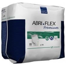 Abena Abri-Flex L1 Premium Large-3 Впитывающие трусики, 14 шт (талия 100-140 см, 6 капель)