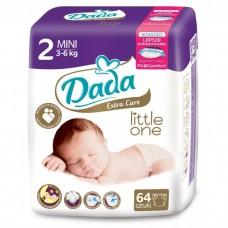 Подгузники Dada Extra Care Mini  2 (3-6 кг)  64 шт.