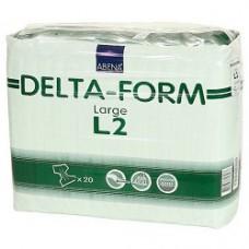 Delta-Form L2 Подгузники одноразовые для взрослых (талия 100-150см) 7капель 20 шт