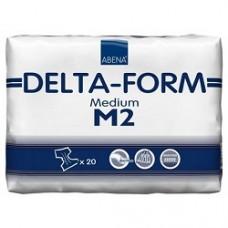 Delta-Form M2 Подгузники одноразовые для взрослых (талия 70-110см) 7капель 20 шт
