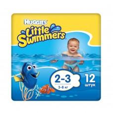 Подгузники для плавания Huggies Little Swimmers Small 2-3 (3-8 кг) 12 шт