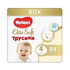 Подгузники-трусики Huggies Elite Soft Box 4 (9-14кг) 84шт