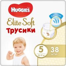 Подгузники-трусики Huggies Elite Soft XL 5 (12-17кг) 38шт