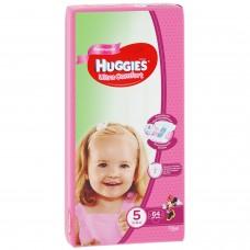 Huggies Ultra Comfort 5 (12-22кг) для девочек 64 шт.