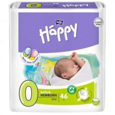 Подгузники Bella Baby Happy 0 Before Newborn (0-2кг) 46шт.