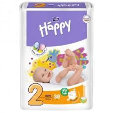 Подгузники Bella Happy 2 Mini (3-6кг) 38 шт.