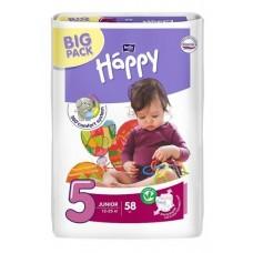 Подгузники Bella Baby Happy Junior 5 (12-25 кг) 58 шт