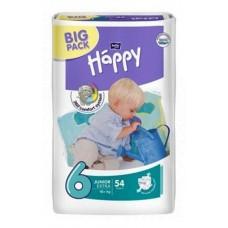 Подгузники Bella Baby Happy Extra Large 6 (16+ кг) 54 шт