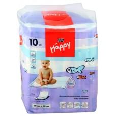 Пелёнки гигиенические для детей Bella Baby Happy 90*60см - 10шт.