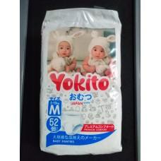 Подгузники-трусики Yokito M (5-10кг) 52шт.