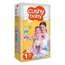 Подгузники Cushy Baby Newborn1 (2-5 кг) 42 шт