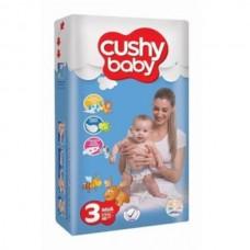 Подгузники Cushy Baby Midi 3 (4-9 кг)  70 шт.