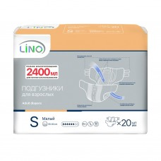 Подгузники для взрослых Lino 1 Small (талия 55-80см) 20шт.