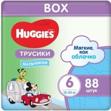 Подгузники-трусики Huggies Ultra Comfort Box 6 Boy (16-22кг) 88шт