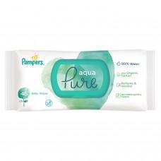 Детские влажные салфетки Pampers Aqua Pure 48 шт.