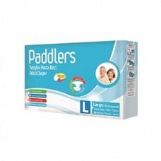 Подгузники для взрослых Paddlers Adult Large (100-150 см) 30 шт
