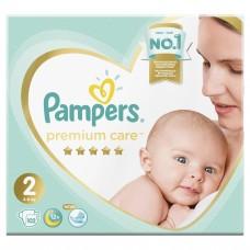 Подгузники PAMPERS Premium Care 2 Mini (4-8 кг) 102 шт.