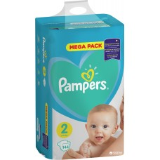 Подгузники Pampers New Baby-Dry 2 Mini (4-8 кг) 144 шт.