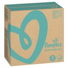 PAMPERS Подгузники Active Baby-Dry 3 Midi (6-10 кг) 208 шт.