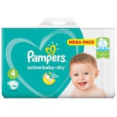 Подгузники Pampers Active Baby-Dry 4 Maxi (9-14 кг) 106шт.