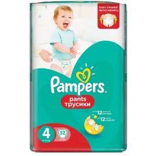 Подгузники-трусики Pampers Pants Maxi 4 (9-14 кг) 52 шт