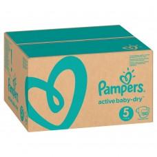 PAMPERS Подгузники Active Baby-Dry 5 Junior (11-16 кг) 150 шт.