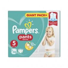 Подгузники-трусики Pampers Pants Junior 5 (12-18 кг) 66 шт.