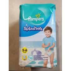Подгузники-трусики для плавания Pampers Splashers размер 5-6, 10 шт.