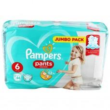 Подгузники-трусики Pampers Pants Extra Large 6 (15+ кг) 44 шт