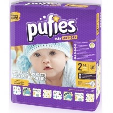 Подгузники Pufies Baby Art&Dry Mini 2 (3-6 кг) 74 шт.