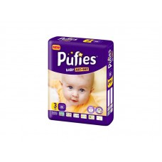 Подгузники Pufies Baby Art&Dry Midi 3 (4-9 кг) 66 шт