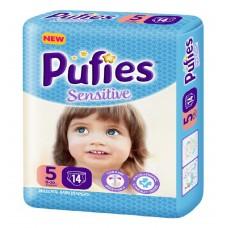 Подгузники Pufies Sensitive Junior 5 (11-20 кг) 14 шт.