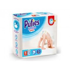 Подгузники-трусики Pufies Sensitive Extra Large 6 (16+ кг) 38 шт.