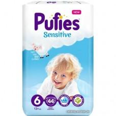 Подгузники Pufies Sensitive Extra Large 6 (13+ кг) 44 шт.