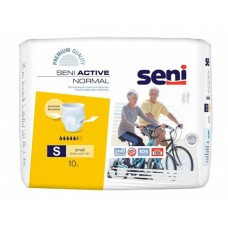 Трусы впитывающие Seni Active Normal Small 1 (талия 55-80 см, 5,5 капель) 10шт