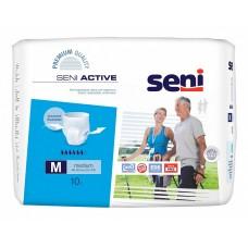 Трусы впитывающие Seni Active medium 2 (талия 80-110 см, 6 капель) 10шт