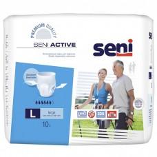 Трусы впитывающие Seni Active Large 3 (талия 100-135 см, 6 капель) 10шт
