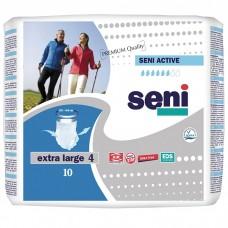 Трусы впитывающие Seni Active Extra Large 4 (талия 120-160 см, 6 капель) 10шт