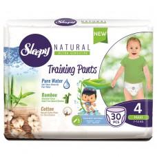 Подгузники-трусики Sleepy Natural 4 Maxi (7-14 кг) 30 шт
