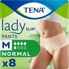 Трусы впитывающие для женщин Tena Lady Slim Pants Normal M (75-110см) 8шт