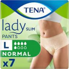 Трусы впитывающие для женщин Tena Lady Slim Pants Normal L (95-125см) 7шт