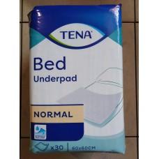 Пелёнки впитывающие TENA Bed Normal (60 x 60) 30 шт.