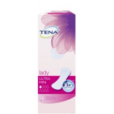 Урологические прокладки Tena Lady Ultra Mini 14 шт (1 капля)