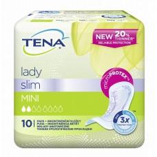 Урологические прокладки Tena Lady Slim Mini 10 шт (2 капли)