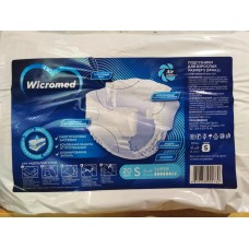 Подгузники для взрослых Wicromed 1 Small (талия 55-80см) 20шт