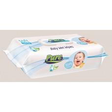Влажные салфетки для детей Pure (120 шт)