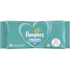 Влажные салфетки Pampers Fresh Clean, 52шт.