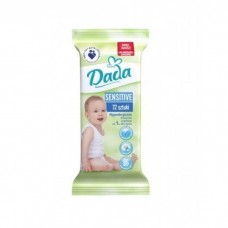 Детские влажные салфетки Dada Sensitive 72 шт