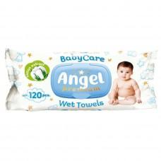Салфетки влажные гигиенические Angel Care 120 шт.